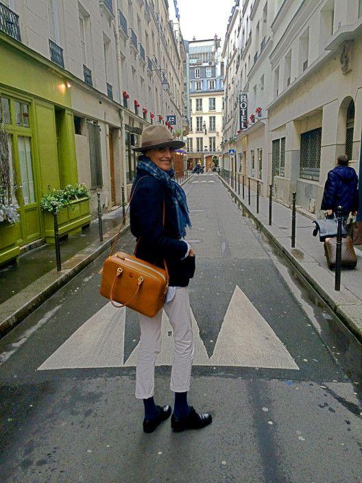 Le sac La Contrie d'Ines de la Fressange