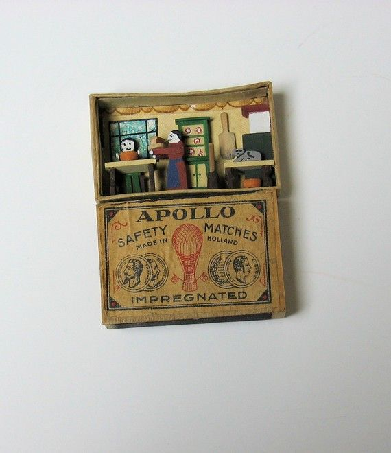 Kitchen in a Matchbox - 1/144th scale