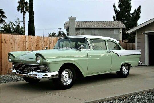 1957 Ford Custom Tudor Sedan Classic Autos Pinterest