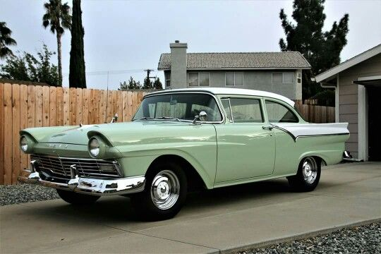 1957 Ford Custom Tudor Sedan