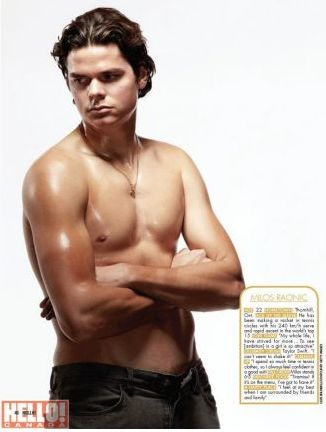 Milos Raonic, one of Hello! Canada's most beautiful people #tennis #atp