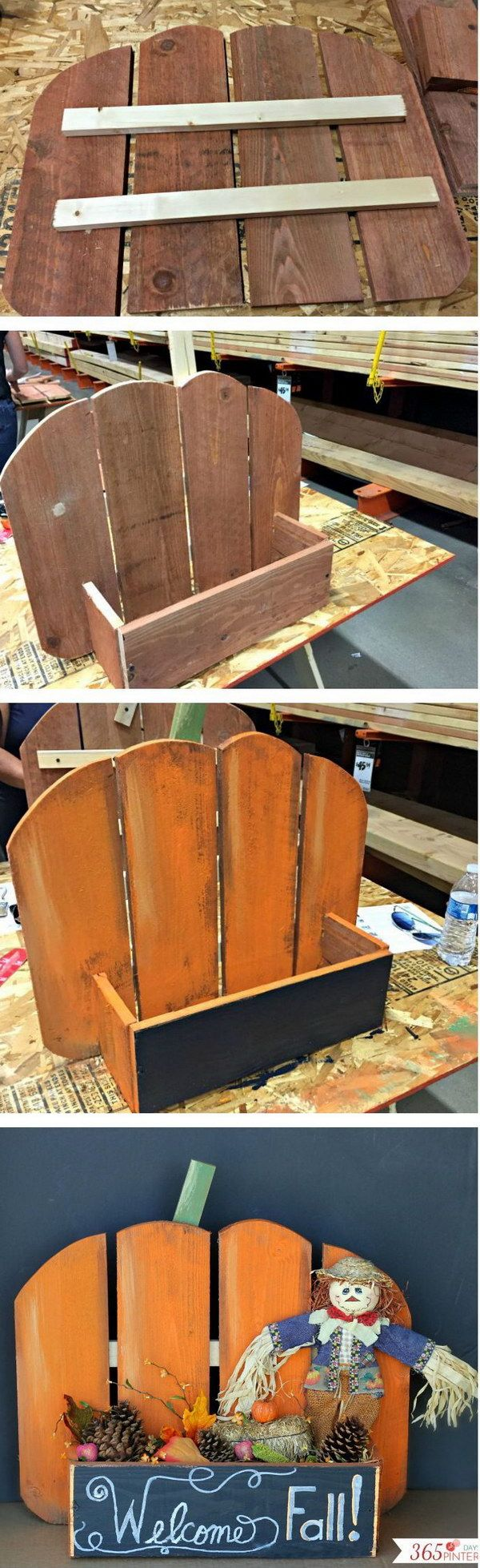 Diy pallets of wood 30 plans and projects pallet furniture ideas - 30 Diy Fall Thanksgiving Decoration Ideas