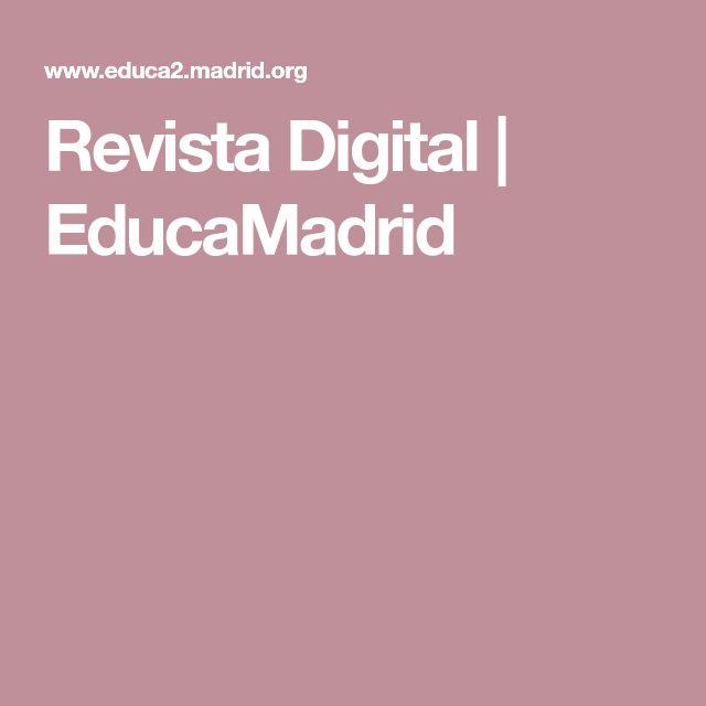 Revista Digital | EducaMadrid
