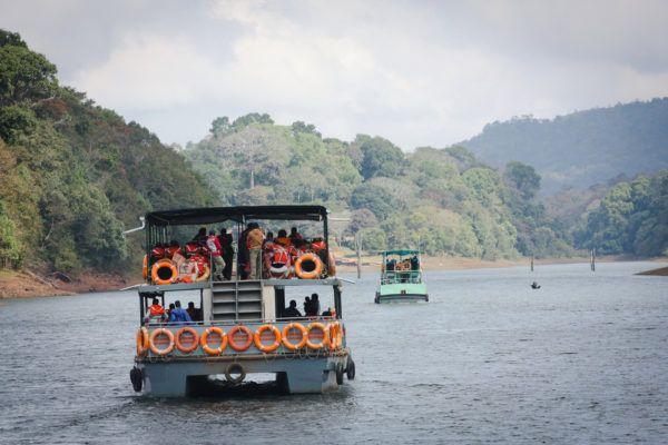 Национальный парк Перияр в Керала