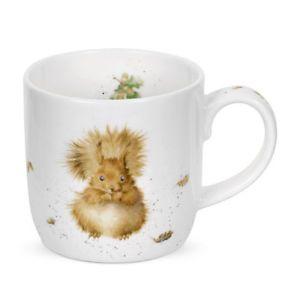 Wrendale redhead treetops squirrel mug