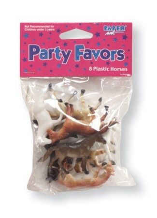 Party Time Celebrations  - Mini Toy Horses, $5.95 (http://www.partytimecelebrations.com.au/mini-toy-horses/)