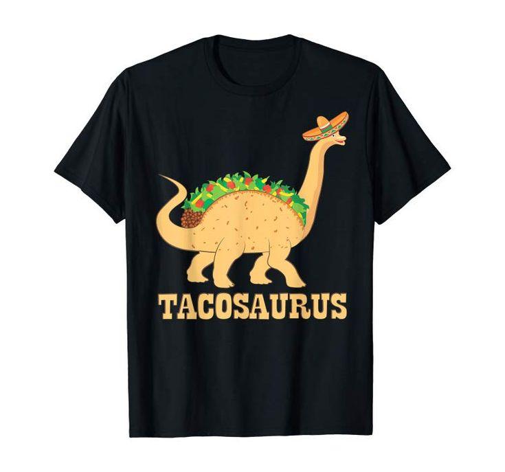 Tacosaurus shirt with cute Dinosaur brachiosaurus rex