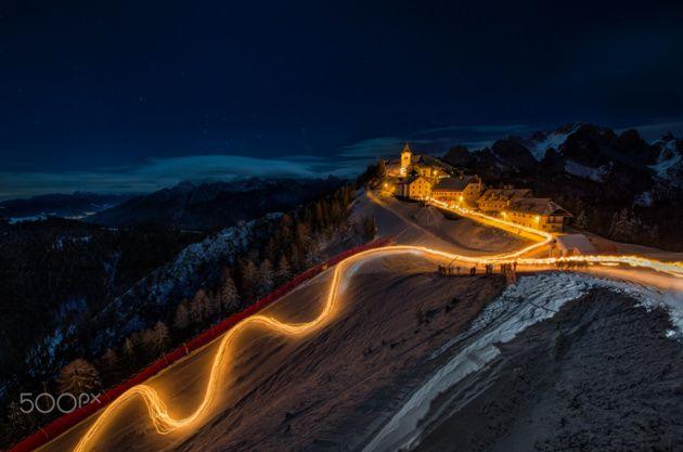 Fiaccolata Monte Lussari © Fabio Tomat