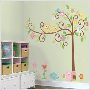 Owl bedroom for the girls