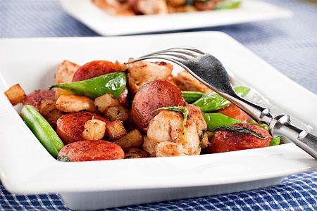 Bakad potatis i ugn el micro - Recept från Spisa.nu