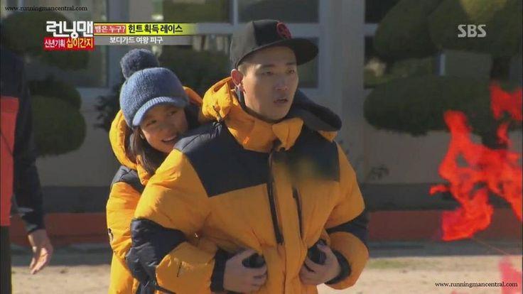 Monday couple- running man Kang Gary and Song Ji Hyo