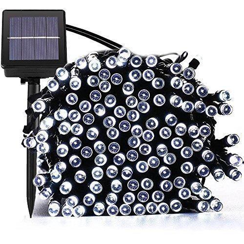 Oferta: -€. Comprar Ofertas de Luces Solar Exterior Tira Lamparas led de Decoración/ Garden iluminación de 22 metros, 200 LEDs de decoración con de 8 modos  barato. ¡Mira las ofertas!