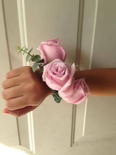 CBL141 Riviera Maya Weddings bodas / corsage de rosa palo vintage / corsage light pink roses vintage