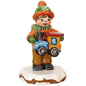 Winterkinder Paulchens Weihnachtswunsch (5cm) von Hubrig Volkskunst