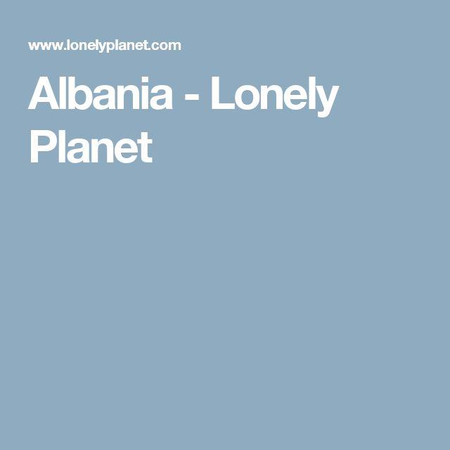 Albania - Lonely Planet