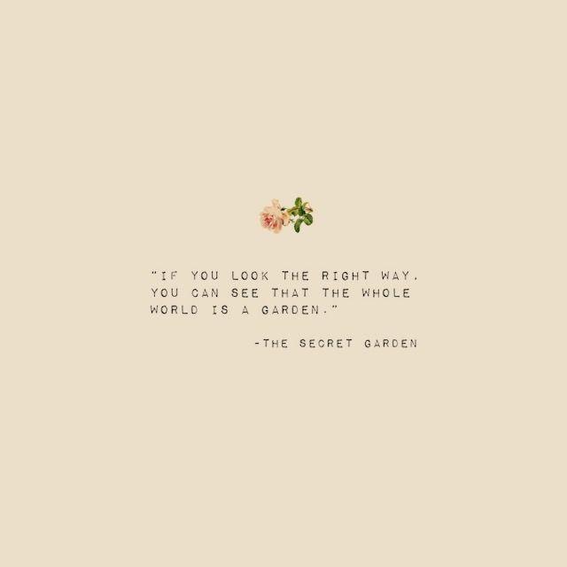 Das Secret Garden Zitat Quotes Das Garden Quotes Secret