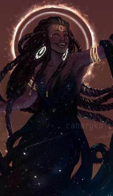 Black Women Art! – doodlesfromthebird: Aeons pass writing the tales...