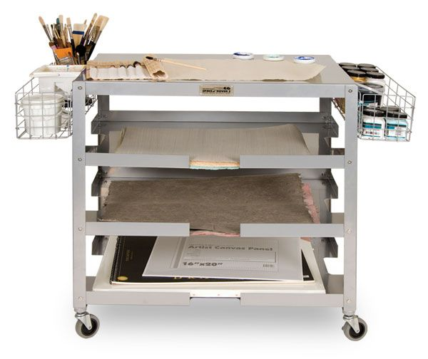 Space Rover Rolling Canvas And Frame Carts