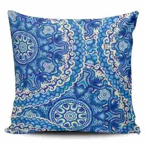 Cojin Decorativo Tayrona Store Mandala 114 - $ 44.900