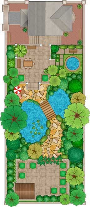 landscape design plan tips