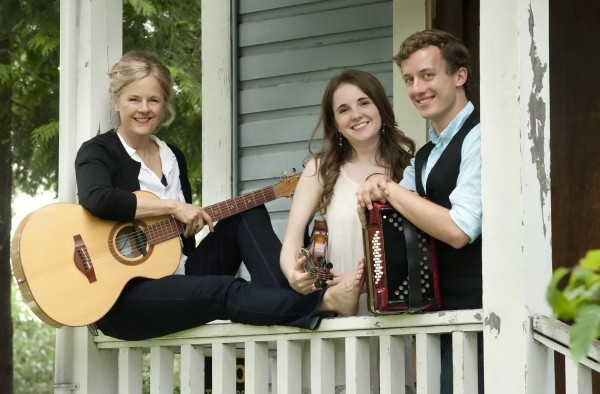 May 12, 2012: the wonderful Shari Ulrich, with Julia Graff and Ted Littlemore.