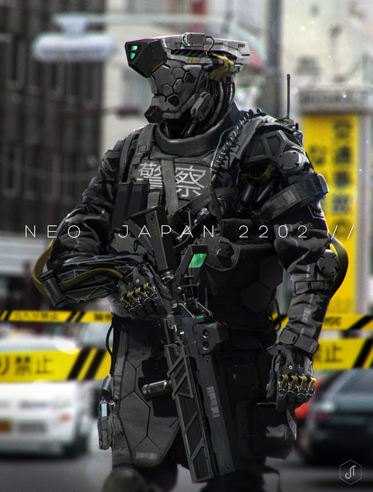 tacticalneuralimplant:  NEO JAPAN 2202 by =johnsonting