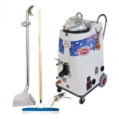 Steamvac Apollo Carpet Cleaning Start Up Package For Sale - $8,410 inc GST. With one of our Steamvac Apollo Carpet Cleaning Start Up Packages, businesses will be guaranteed to save time and money. For more information, visit www.steamaster.com.au or call us now on 1300 855 677