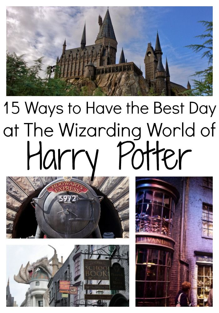 How to make the most of your visit to the Wizarding World of Harry Potter.