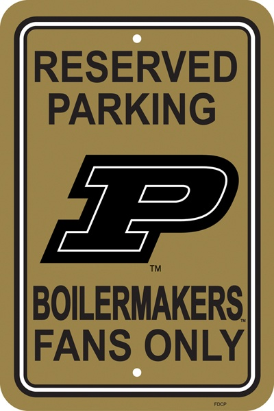 UNIVERSITY OF PURDUE 12 x 18 Logo Parking Signs [50279] - $9.99 : Fantastic Sports Store, Fantastic Sports Gear