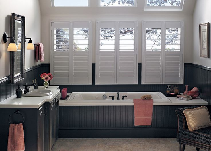 Cafe Shutters for Windows | Budget Blinds Greater Concord ...