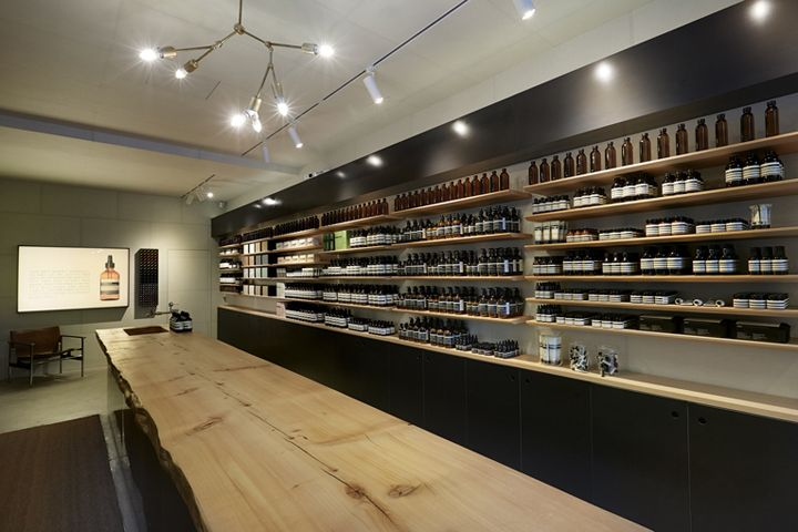 Aesop store by Wise Architecture, Seoul – South Korea