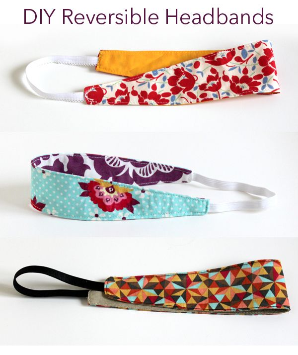 creatively christy: DIY Reversible Headbands