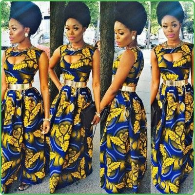 African Dresses Ankara Gown Style  http://www.dezangozone.com/2015/07/african-dresses-ankara-gown-style.html
