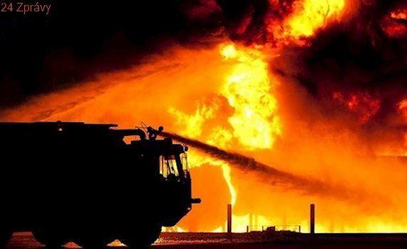 V centru Moskvy vyhořel hotel, nejméně tři mrtví a devět zraněných