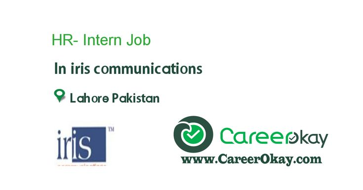 Hr Intern  Jobs In Pakistan    Jobs Jobs And Iris