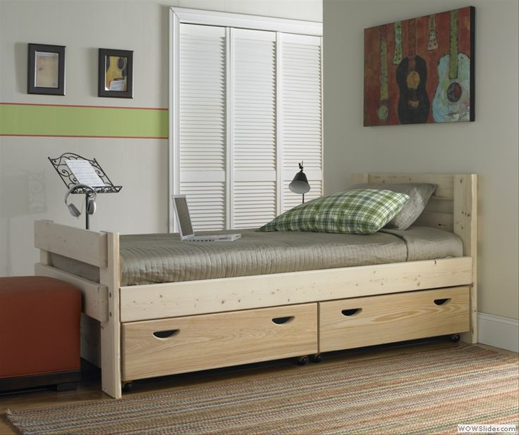 Captains Bed with Storage Drawers. To purchase call 1-800-BunkBed or click the image above.