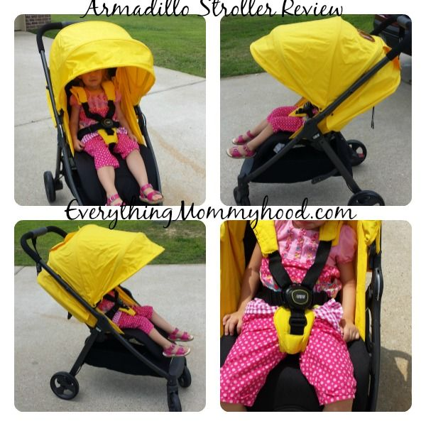 Mamas and Papas Armadillo stroller in action!
