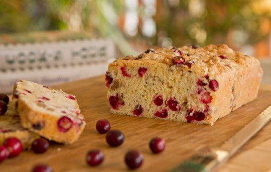 Cranberry Bread Recipe | Recipes - Breads (sweet) | Pinterest