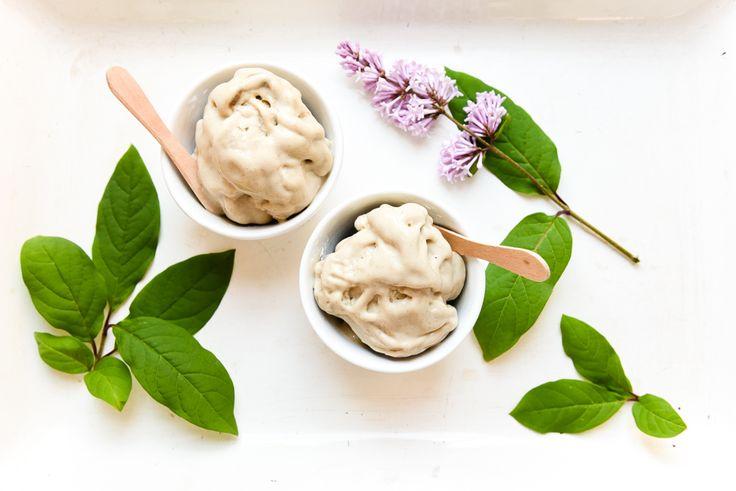 Dairy free liquorice nice cream