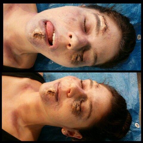Corpse sfx makeup