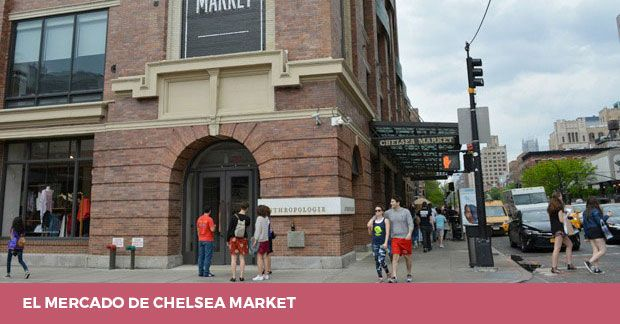 Chelsea Market Nueva York Visita Tiendas Y Restaurantes Lugares Secretos Nueva York Turismo Viaje A Nueva York