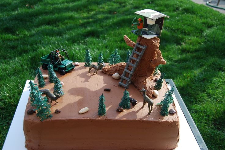 Turkey Hunting Cake Decorations : 54 Best images about Hunting/fishing cake ideas on ...