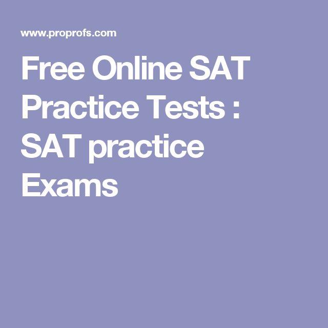 Free Online SAT Practice Tests : SAT practice Exams