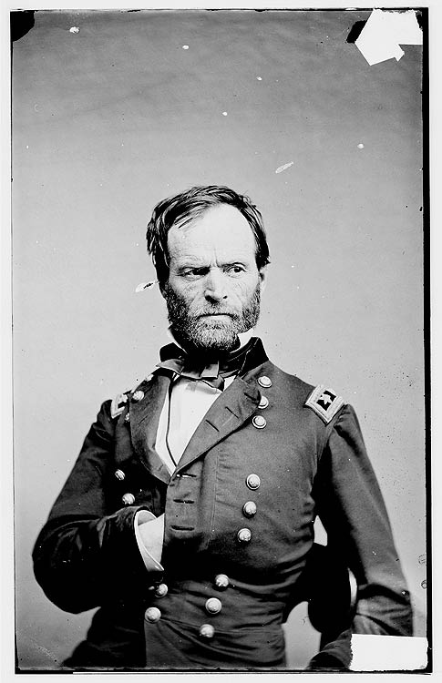 General William Tecumseh Sherman   The South's Civil War History would not be complete without a picture of General ShermanWilliams Tecumseh Sherman, American History, Civil Wars Pictures, Ball Buster, General Sherman, General Williams, Wars History, South Civil, The Sea