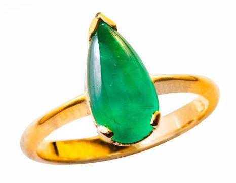 Anillo elaborado en Esmeralda, y Oro Amarillo #jewellery #ring #gold #luxury #emeralds