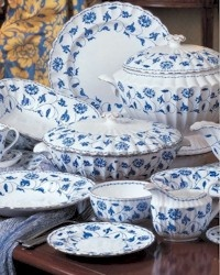 Spode Blue Colonel Platinum...this is my china pattern and I still love & 109 best Spode Collections images on Pinterest   Dish sets China ...
