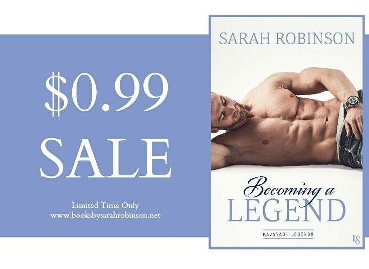 Becoming a Legend by Sarah Robinson on #SALE for the very first time. #99cents #Bookbub Amazon: http://amzn.to/2t8kz0J