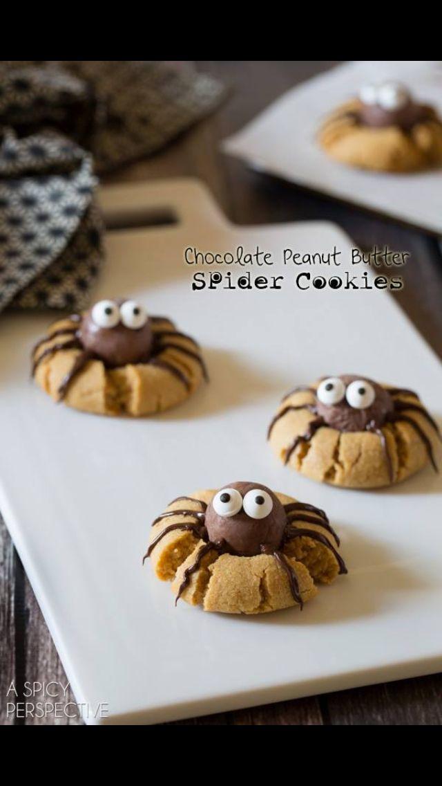 Spider sugar cookies