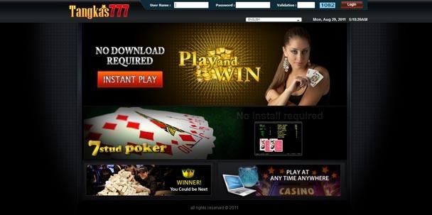 TANGKAS777 adalah Taruhan Bola Tangkas atau Poker gaya Indonesia yang menggunakan 7 buah kartu untuk menghasilkan kombinasi kartu tertinggi, dalam 7 buah kartu tersebut akan dipilih 5 kartu yang menghasilkan kombinasi terbaik.