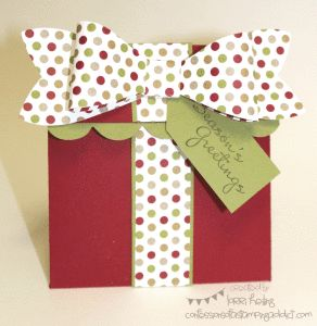 Stampin' Up! Gift Bow die - Weekly Deal $24.71 until Nov 18 at www.kwstamps.stampinup.net